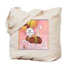 The Carefree Cat Tote Bag