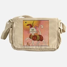 The Carefree Cat Messenger Bag