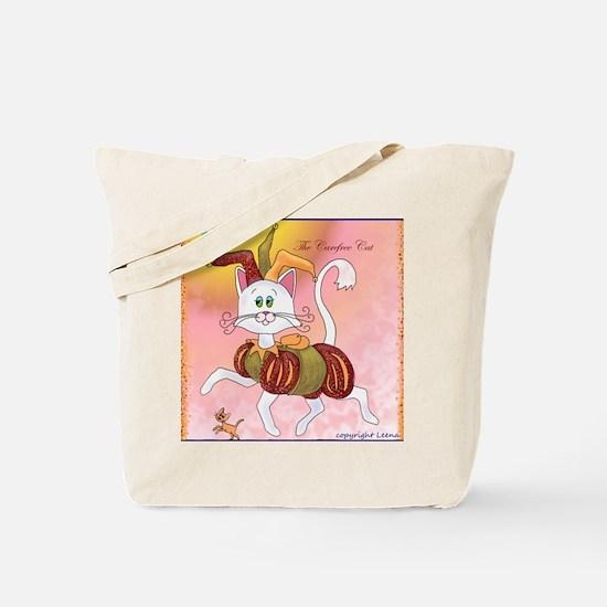 The Carefree Cat Tote Bag