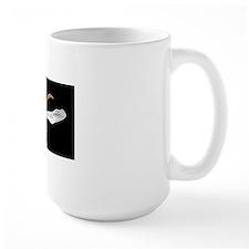 Woodworm beetle in flight Mug
