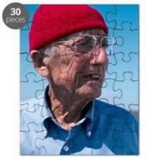 Jacques-Yves Cousteau, French diver Puzzle