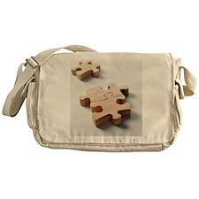 Jigsaw pieces Messenger Bag