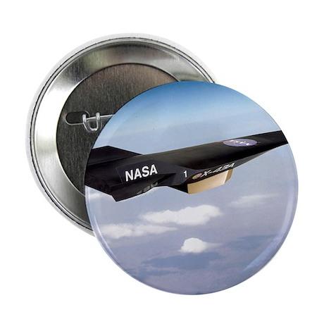 """X-43A aircraft 2.25"""" Button"""