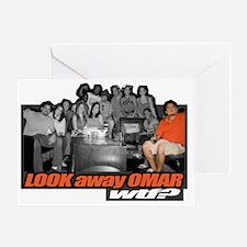 LOOKawayOMAR Trans Greeting Card