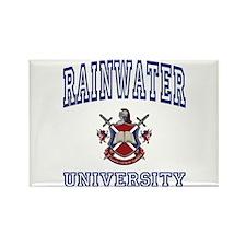 RAINWATER University Rectangle Magnet