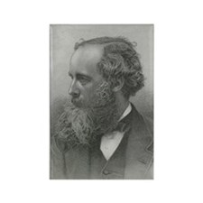 James Clerk Maxwell, Scottish phy Rectangle Magnet