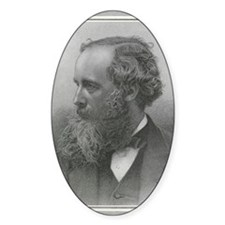 James Clerk Maxwell, Scottish physi Decal