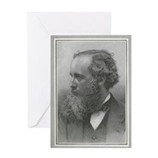 James Clerk Maxwell, Scottish physic Greeting Card