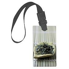 Japanese sencha green tea Luggage Tag