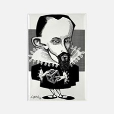 Johannes Kepler, caricature Rectangle Magnet