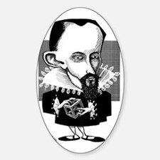 Johannes Kepler, caricature Decal
