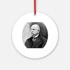 Joseph Babinski, French neurologist Round Ornament