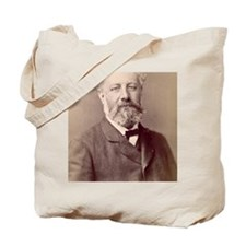 Jules Verne, French novelist Tote Bag