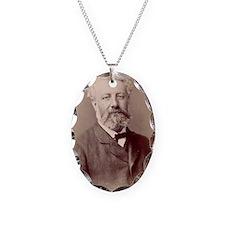 Jules Verne, French novelist Necklace