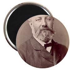 Jules Verne, French novelist Magnet