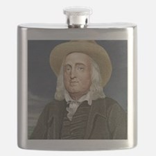 Jeremy Bentham, British philosopher Flask