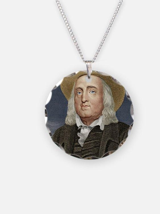 Jeremy Bentham, British phil Necklace