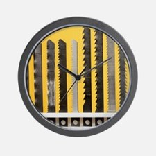 Jigsaw blades Wall Clock