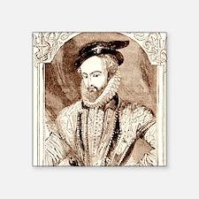 "Juan Ponce de Leon, Spanish Square Sticker 3"" x 3"""