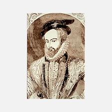 Juan Ponce de Leon, Spanish explo Rectangle Magnet