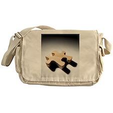 Jigsaw piece Messenger Bag