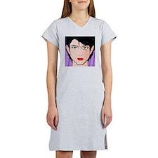 Pop Art Girl Kirra Women's Nightshirt