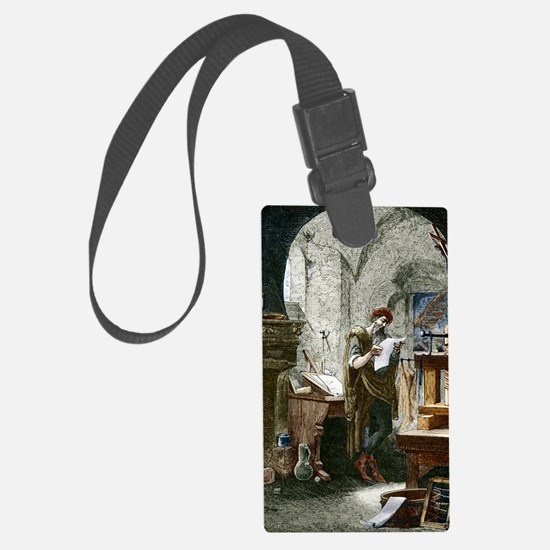Johann Gutenberg, German invento Luggage Tag