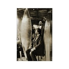 Konstantin Tsiolkovsky, rocket pi Rectangle Magnet