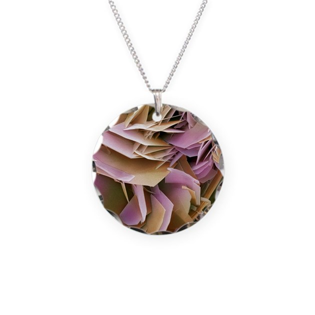 Kidney stone crystals sem necklace by admin cp66866535 for Jewelry made from kidney stones