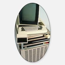 Xerox Alto computer Sticker (Oval)