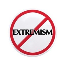 "No Extremism 3.5"" Button"