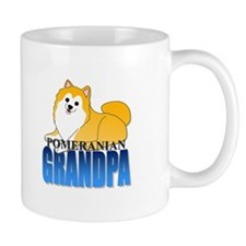 Particolor Pomeranian Grandpa Mug