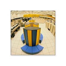 """Xray X-MP/48 supercomputer  Square Sticker 3"""" x 3"""""""