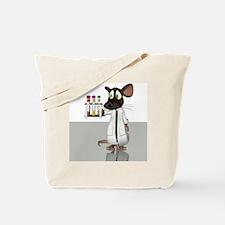 Laboratory mouse, conceptual artwork Tote Bag