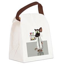 Laboratory mouse, conceptual artw Canvas Lunch Bag