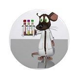 Laboratory mouse Ornaments