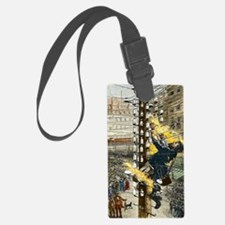 John Feeks being electrocuted, 1 Luggage Tag