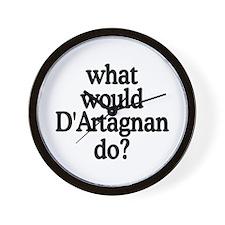 D'Artagnan Wall Clock