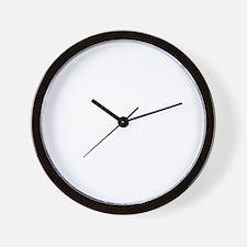 norseShip1B Wall Clock