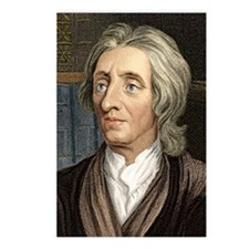 John Locke, English philo Postcards (Package of 8)