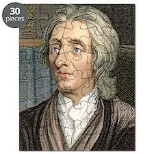 John Locke, English philosopher Puzzle