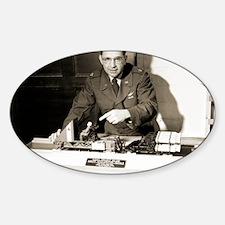 John Stapp, US aviation researcher Sticker (Oval)
