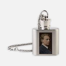 John Logie Baird, British inventor Flask Necklace
