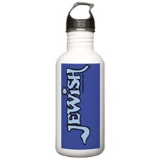 JewishKindleNookLtBlue Water Bottle