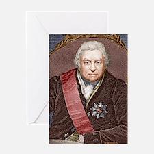 Joseph Banks, British naturalist Greeting Card