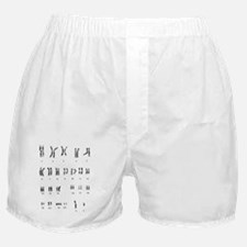 Karyotype of chromosomes in Down's sy Boxer Shorts