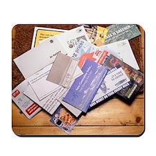 Junk mail Mousepad