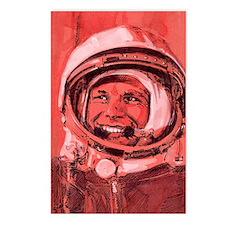 Yuri Gagarin, Soviet cosm Postcards (Package of 8)