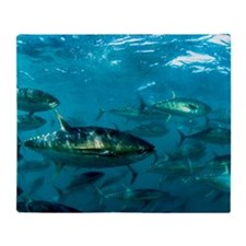 Yellowfin tuna Throw Blanket