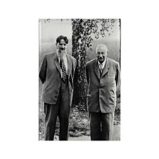 Kurchatov and Ioffe, Soviet physi Rectangle Magnet
